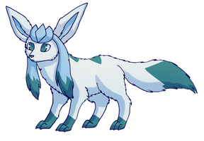 Glaceon by Kappetapp