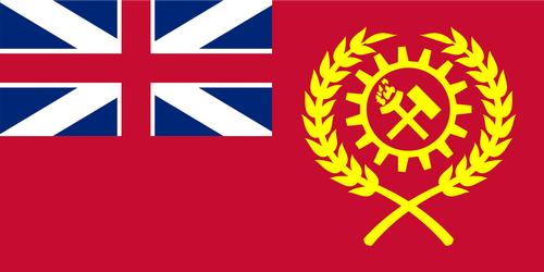 Kaiserreich - Union of Britain Flag by Yoshisa