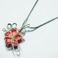 Wire Wrap Perfume Pendant 21 by Create-A-Pendant