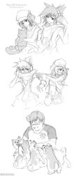 Video Game Fanart Sketchdump (5/4/2018) by Nyaasu