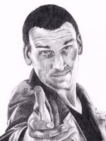 Christopher Eccleston as Doctor Who by Kate-Murray