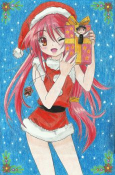 Shana (Merry Christmas) by Xtremist22