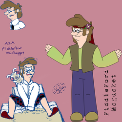 Fiddleford Mcgucket Ref by MutantWinProductions