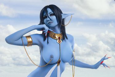 Magi: The Labyrinth of Magic: Piamon sexy cosplay by Kak-Tam-Ee