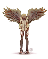 Wings For Falling by SarahCulture