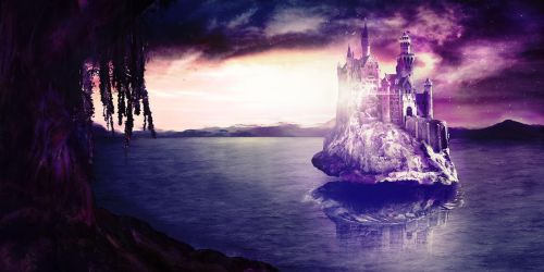 Matte Painting: Rising from the Depths by ShahAkash