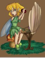 DF: Tinker Bell in the morning by Lumosita