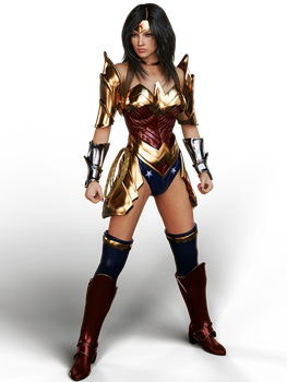 Wonder Woman Rebirth by Le-Arc-7thHeaven