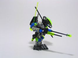 LEGO UFO Sniper Mech by illogictree