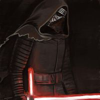 Daily Sketches Kylo Ren by fedde