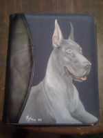 Blue Dane-Dayplanner by LainDragon