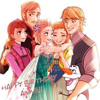 We Love princess Anna!! by Yudukichi