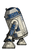 R2D2 by DaveMilburn