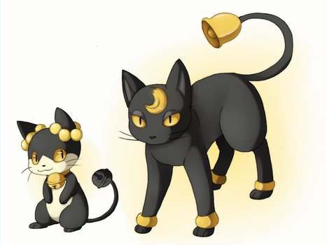 POKEMON- Rinring and Bellboyant by Quarbie