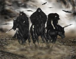 The Three Morrigans by Ionus