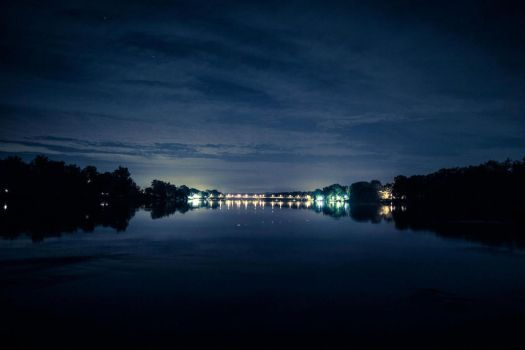 New Hope/Lambertville Bridge @ 24mm by dallasgutauckis