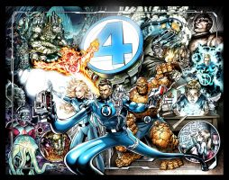 Fantastic Four Birthday Gift by PatrickThornton