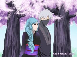 Mina And Kakashi [Naruto and Hinata's wedding.] by Pungpp
