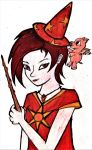Wizard101: Pyromancer Witch by GwillaTheDragon