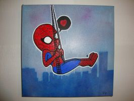 Spidey's swing by LilysFactory