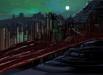 Deep in the Wastes by colorcomicsbadly