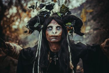 Forest witch stock by Nerium-Oleanders