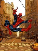 Webthwipping Spider-Man color by SpiderGuile