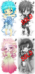 OPEN Chibi DakimakurAdopt (points|paypal) by Mokolat-Illustr