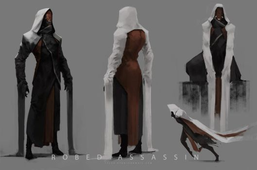 Robed Assassin by TyRDoodles