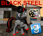 (DL) Black Steel by Out-Buck-Pony