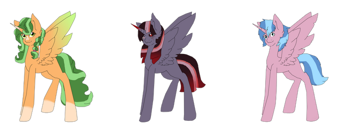 Alicorn Auction Adopts[OPEN] by DreamCloudAdopts
