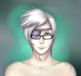 Semi-realistic Isail - FF7 OC by AkumaCursed