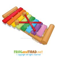 Xylophone - Xylophone FROGandTOAD by FROG-and-TOAD