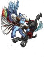 Rainbow Dash - Assassins Creed by TheLivingShadow