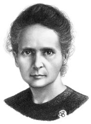 marie curie by subhankar-biswas