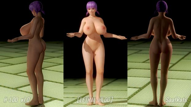 Ayane LETHAL-H-LOD by SaafRats