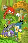 Sonic and Knuckles by Mike-Bunt