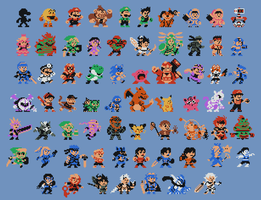 Smash Boys''Pixel-ized'' by AlmKornKid