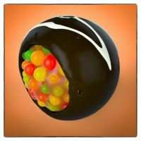Chocolate Sphere by NIKOMEDIA