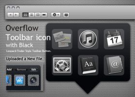 Overflow Toolbar icon - Black by Gpopper