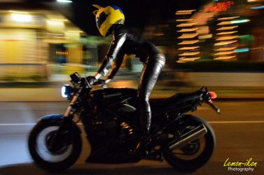 Celty Rides Back! by Foayasha