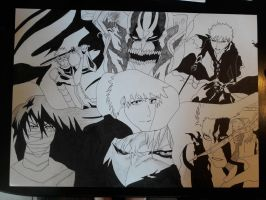 Ichigo Kurosaki collection complete: Outlines  by SicaChii