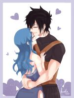 Stay always by my side, Juvia~ by ksmile1313