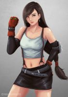 Tifa Lockhart by TwentySevenAB