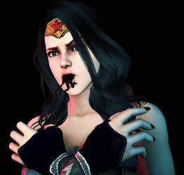 Wonder Woman's Super Snack by jssfmcontent