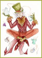 The Mad Hatter by Tavicat