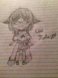 Chibi FFXIV Character by AuroraLaurialis