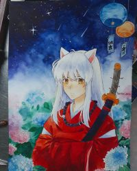 Inuyasha by Vectorq1989