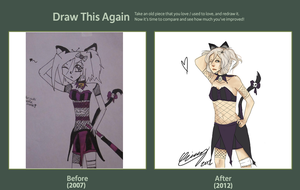 Draw this again contest~ by Chrissytor