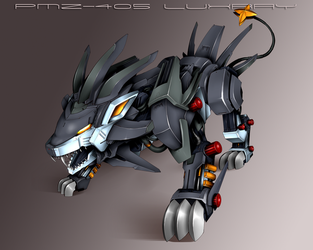 Luxray Zoid by Gscreen2
